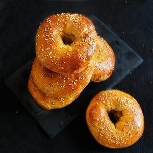 Recette du bagel à la farine de pois chiche de Mail0ves - MailoFaitMaison -
