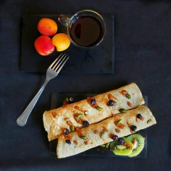 Crêpe omelette ou omelette sucrée