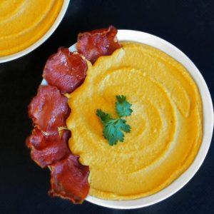La recette de Purée de patate douce et pois chiche au lait de coco de Mail0ves -MailoFaitMaison -