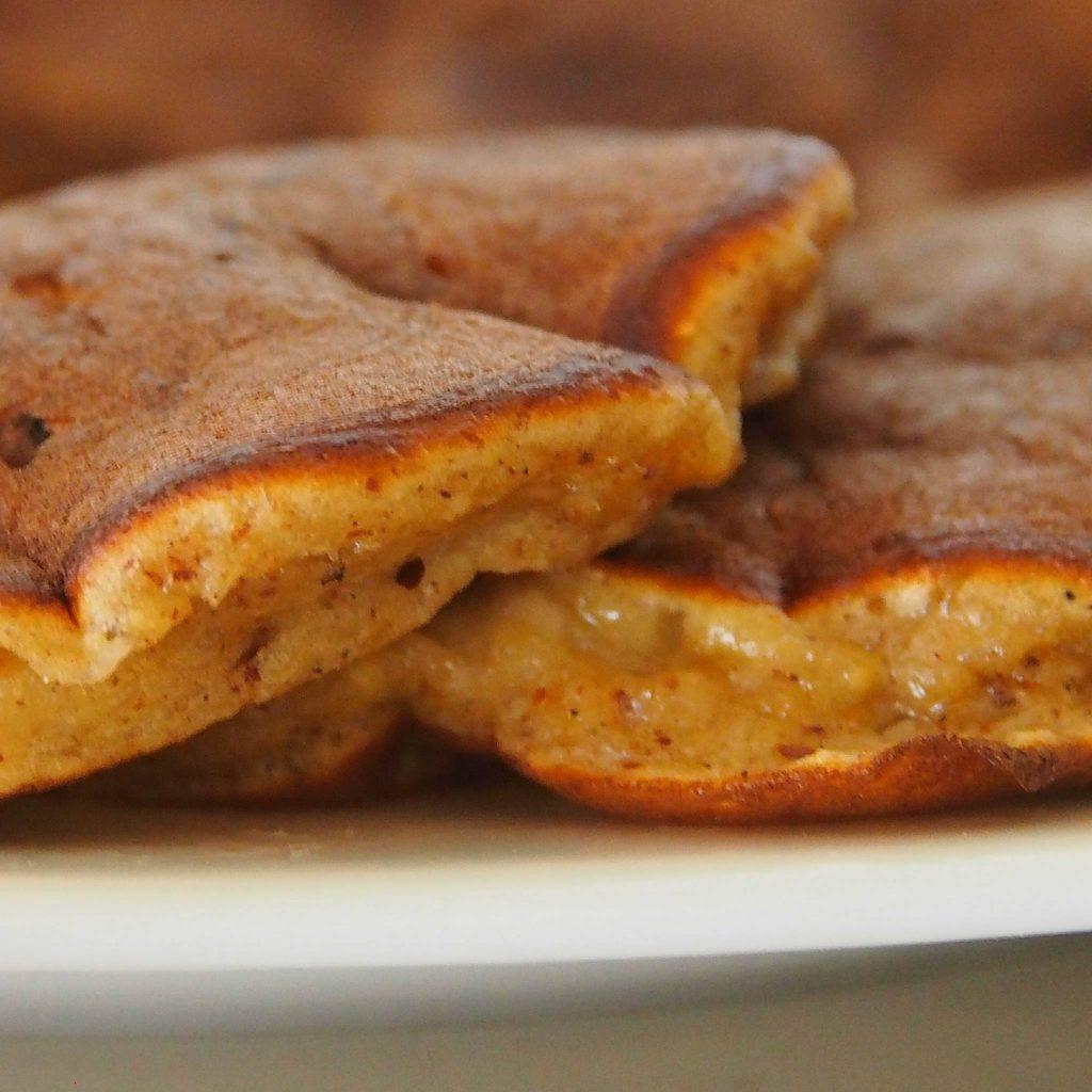 Pancakes à la farine de pois chiche pour les nuls