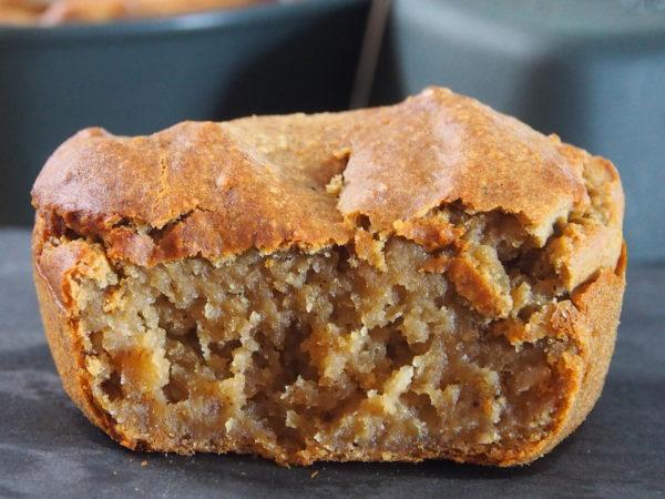 Enfourner dans de petits moules - à muffins par exemple - pendant 25 à 35 min selon la puissance de votre four. Le couteau doit ressortir avec de très légères traces. Laisser refroidir avant de démouler et déguster.