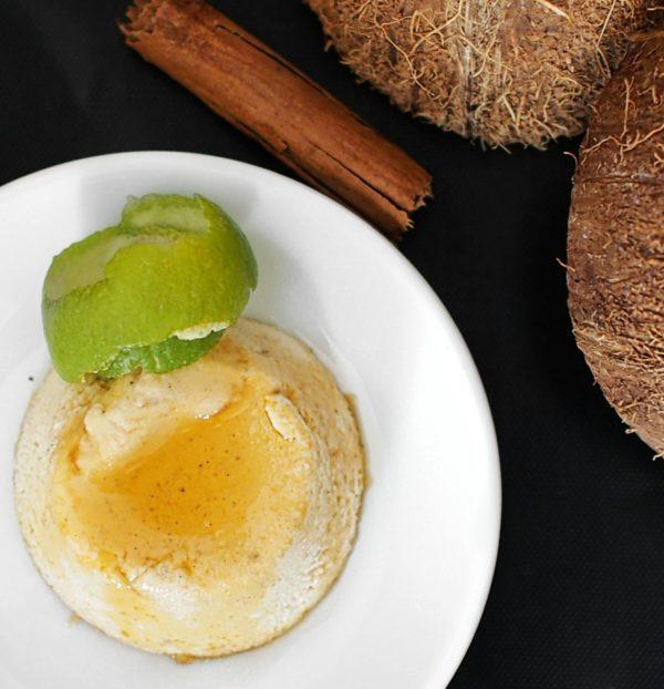 Flan au coco antillais, la recette saine
