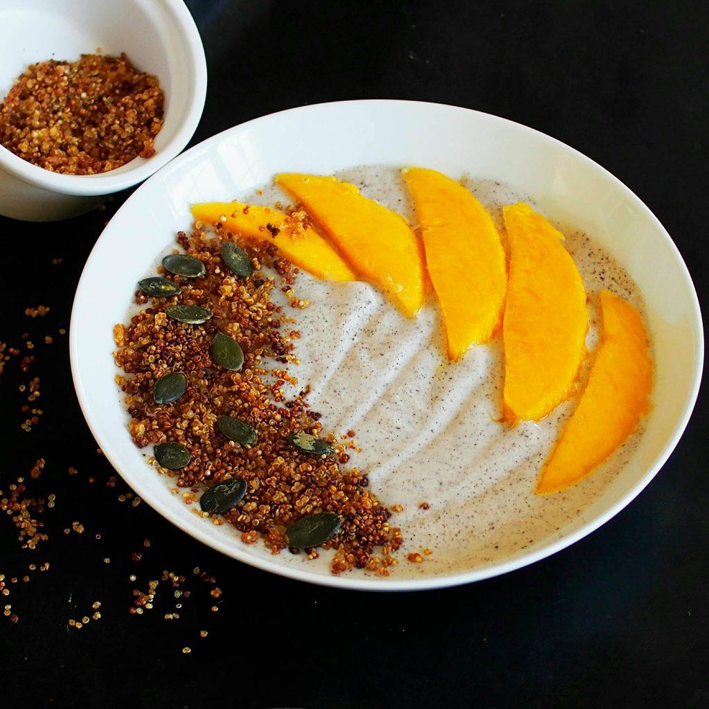 Quinoa grillé, le topping santé de Mail0ves, MailoFaitMaison