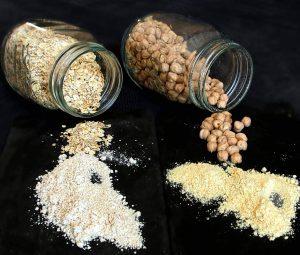 Farines maison pour des repas nutritifs et protéinés