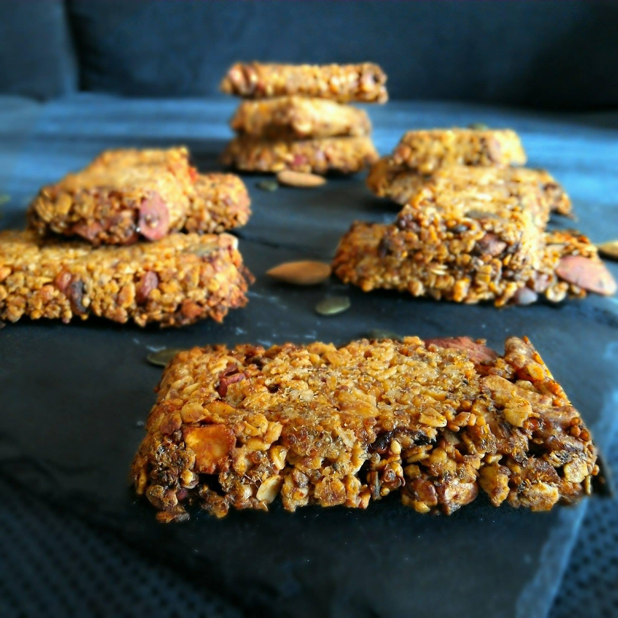 Barres de céréales avoine et quinoa