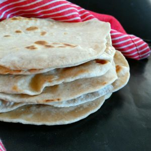 wrap minute à l'épeautre, la tortilla facile