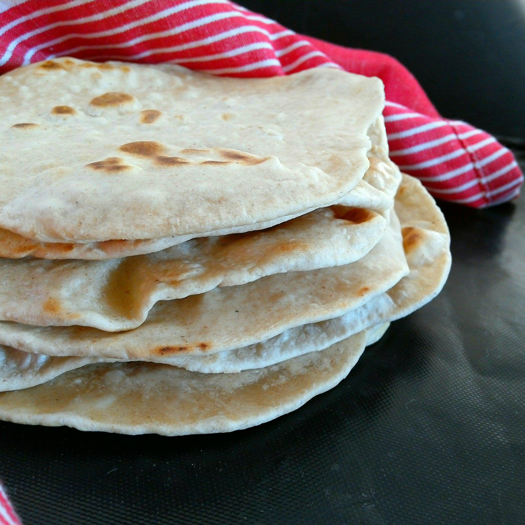 Wrap minute sain, la tortilla facile