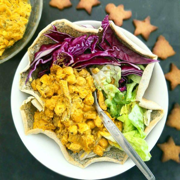 Servir immédiatement avec l'accompagnement de votre choix, riz, légumes, pain ou wrap.