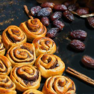 brioches à la cannelle, le cinnamon roll sain