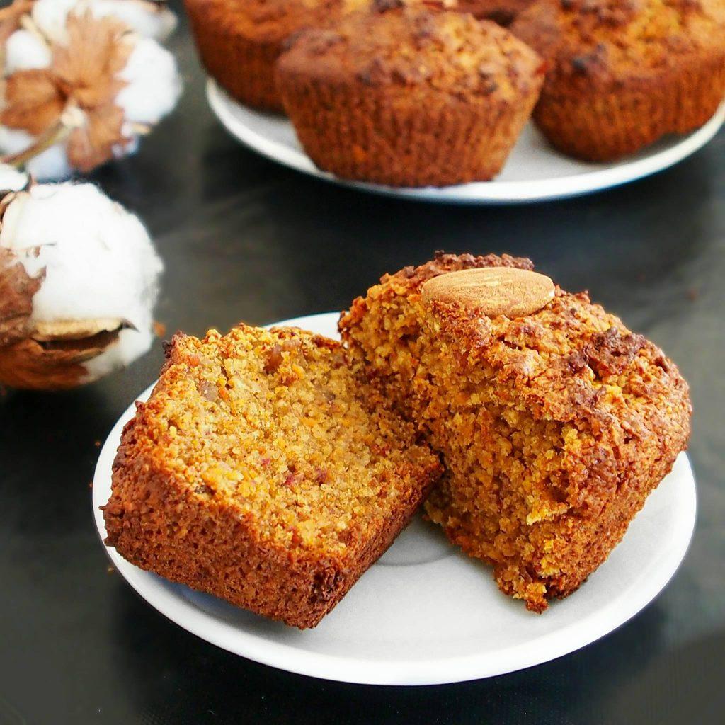 Sweet potato cake muffins ou muffins à la patate douce