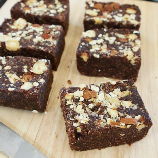 Browny square : le brownie cru façon energy square