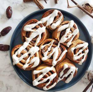 Cinnamon rolls au petit épeautre