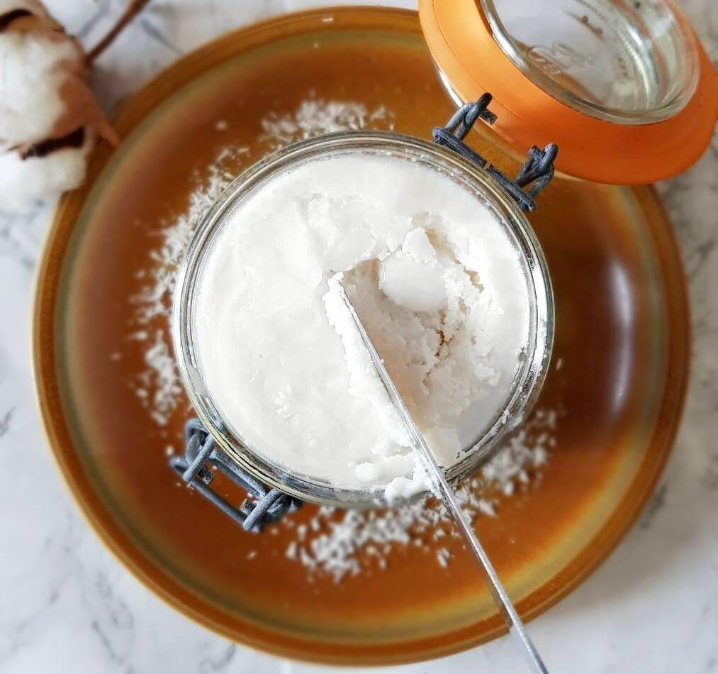 Beurre de coco de Mailoves - mailofaitmaison