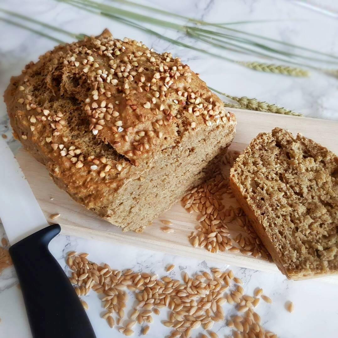 Pain au petit épeautre : le pain de mie minute à l'engrain