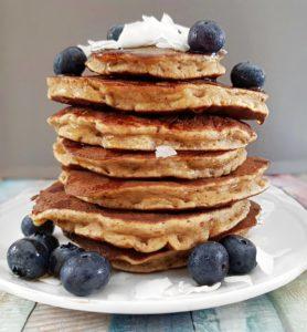 Pancakes à la banane moelleux et fondants