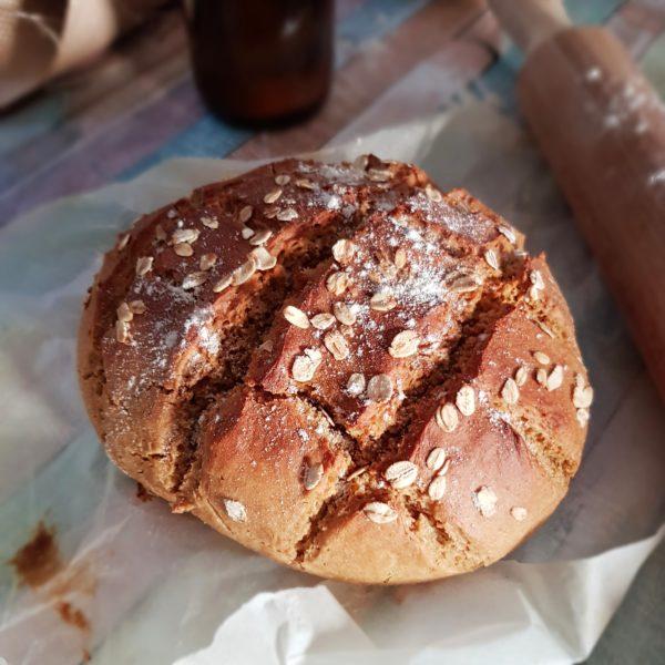 Pain cocotte au petit épeautre, le pain croustillant rapide