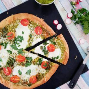 Pâte à pizza protéinée farine de petit épeautre et farine de lupin