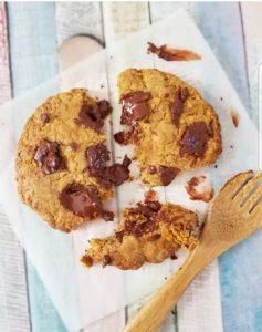 Cookie à la farine de lupin