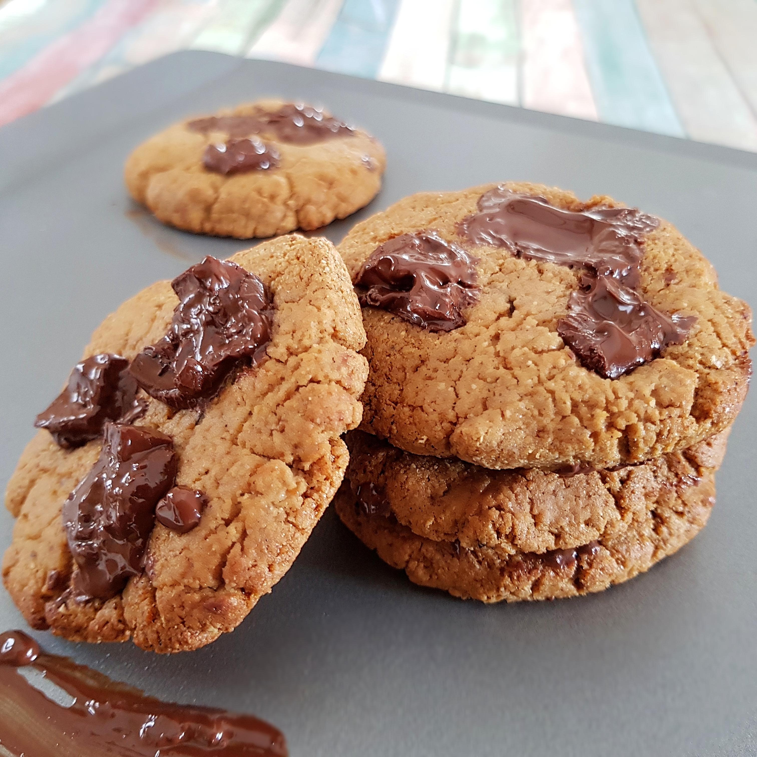 Cookies faciles à la farine T150 sans beurre et sans huile