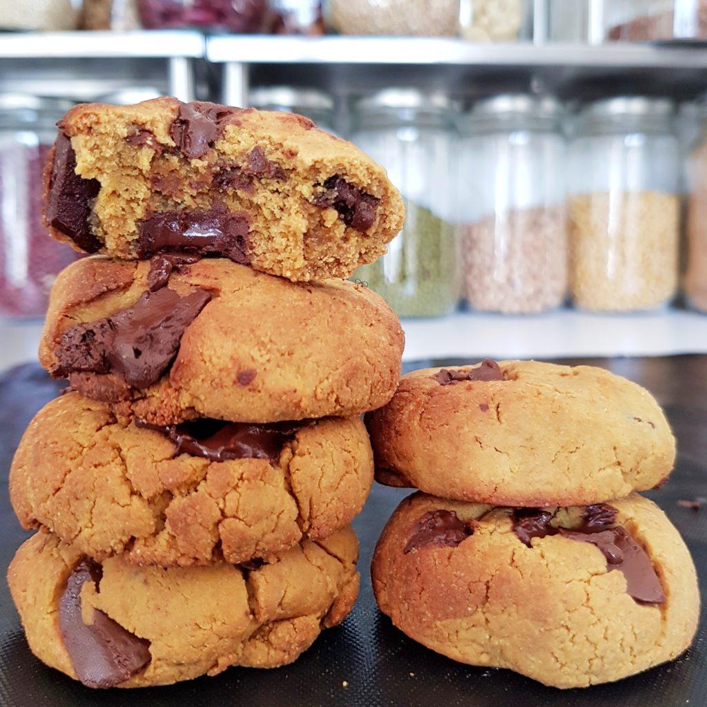 Cookies vegans sans huile 100% farine de lupin de mail0ves - Mailo Fait Maison