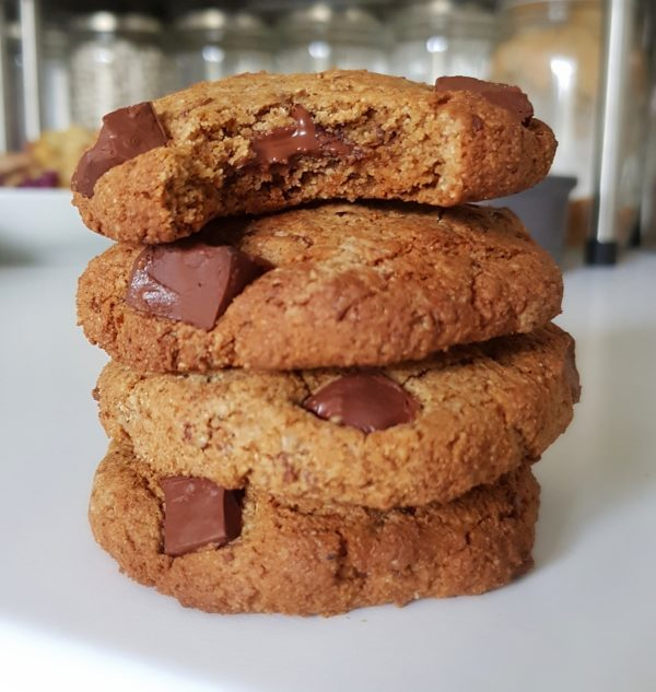 Cookies gourmands vegans et sans huile
