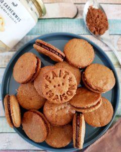 indispensables nu3 : Sablés vegan à la pâte de cacao crue