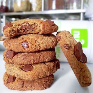 Cookies vegans gourmands à la farine de souchet