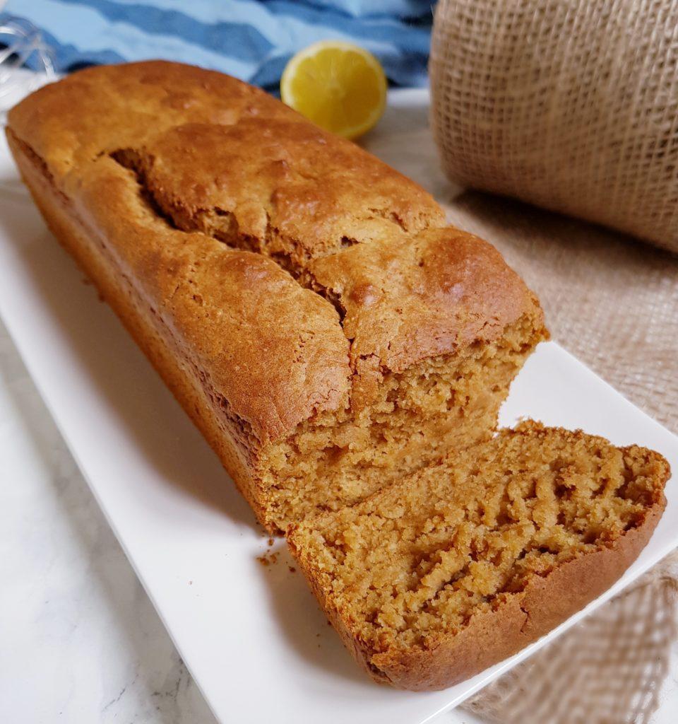 Cake au citron vegan et sans huile à la farine intégrale de mail0ves - mailo fait maison