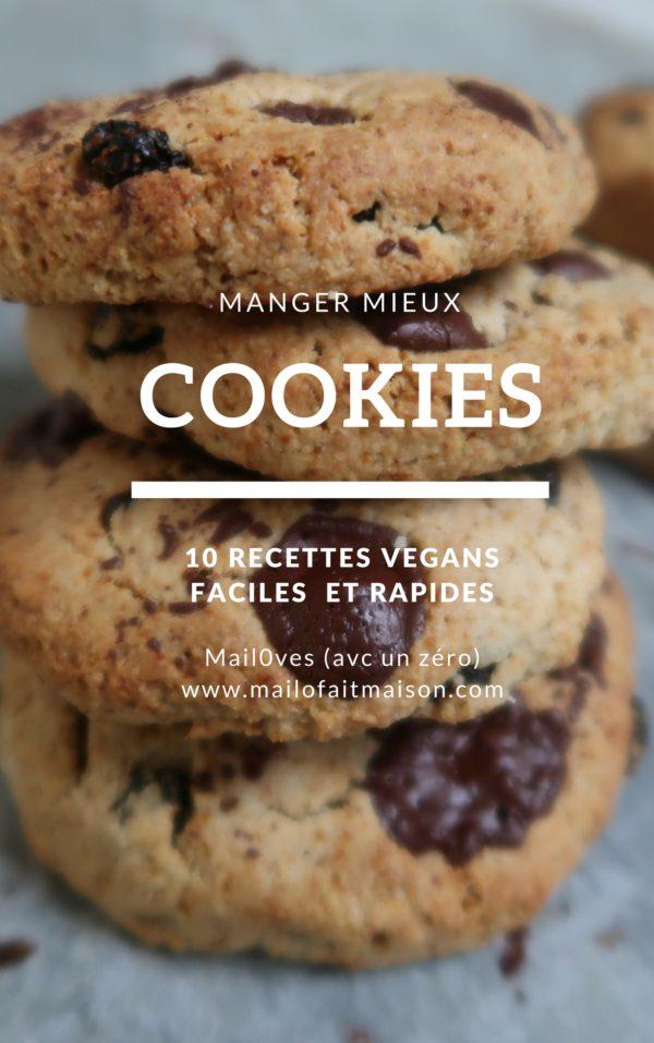 cookies vegan de mail0ves - mailo fait maison
