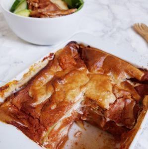 Lasagnes Végétales Avec Sauce Tomate Protéinée Aux Haricots Rouges de Mail0ves - Mailo Fait Maiso