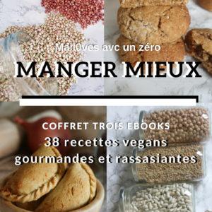 Cookies, Sarrasin et Légumineuses : 3 ebooks de recettes gourmandes et rassasiantes de Mail0ves - mailo fait maison