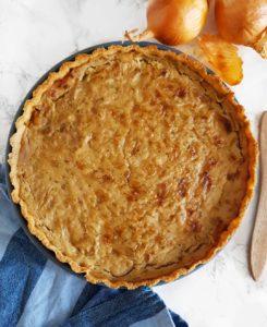 Tarte oignon curry du ebook sans gluten spécial sarrasin de Mail0ves - Mailo fait maison