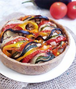 Tarte aux légumes façon tian de légumes de mail0ves - Mailo Fait Maison