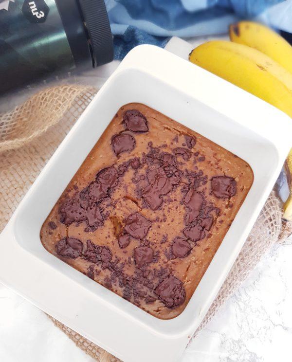 Flan à la Banane Vegan et Protéiné: Recette Facile