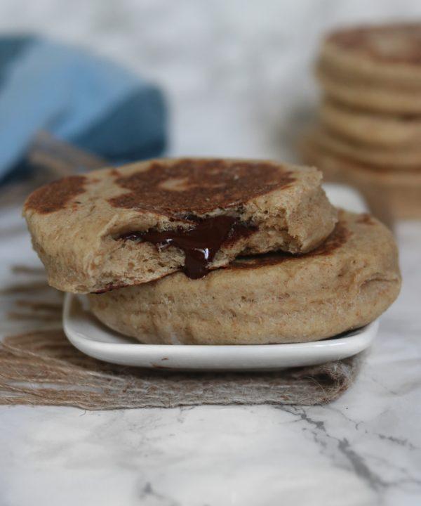 Breakfast Donuts : Brioche Vegan Fourrée à La Poêle