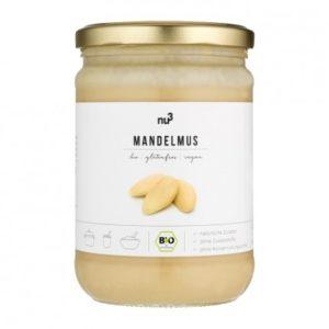 Purée 100% amande blanche sur www.nu3.fr à -15% avec le code MAILO15