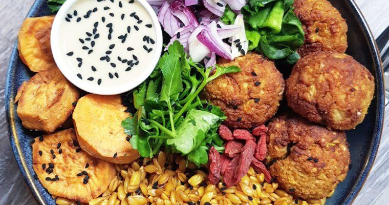 Boulettes de Tofu Au Four Faciles Et Rapides [vegan]