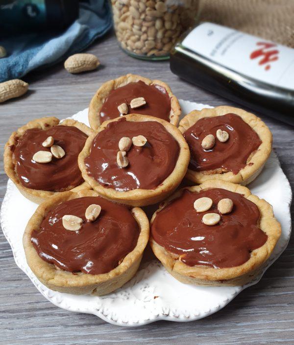 Snickers biscuits vegans