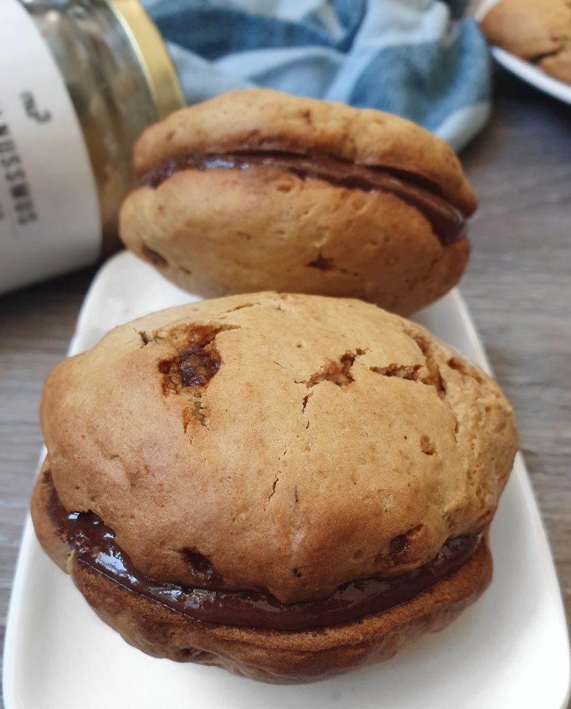 Cookies Briochés Vegans Naturellement Protéinés. Recette de mail0ves - mailo fait maison