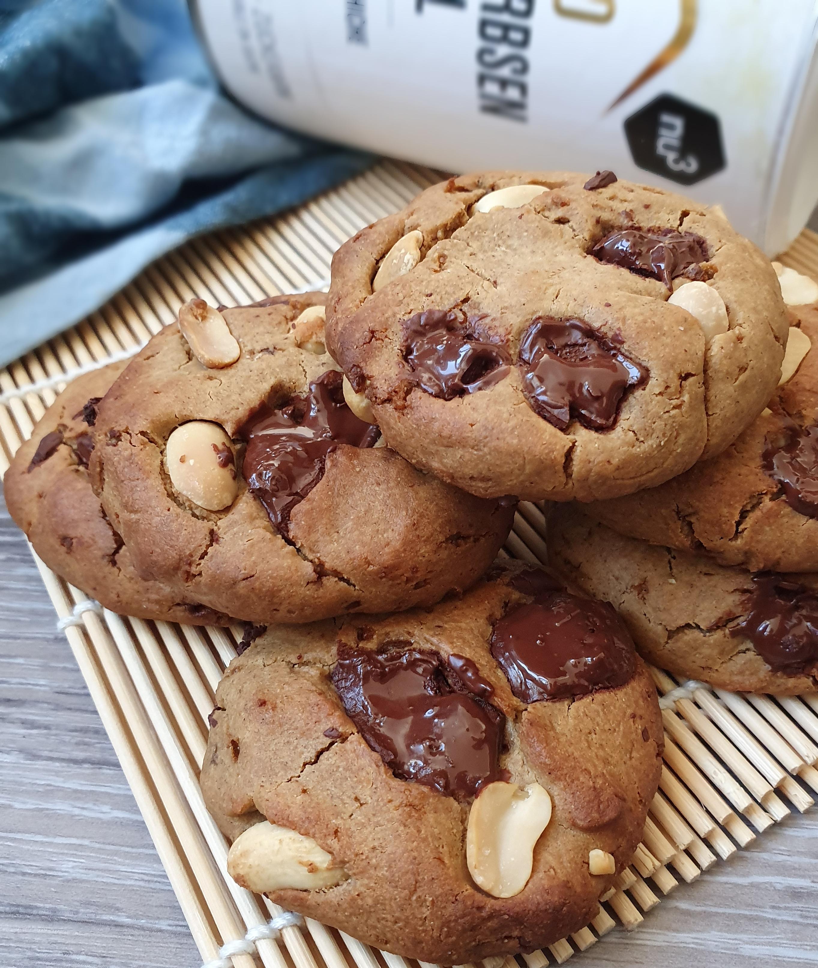 Cookies au Beurre de Cacahuète Sans Gluten et Protéinés [Vegan]