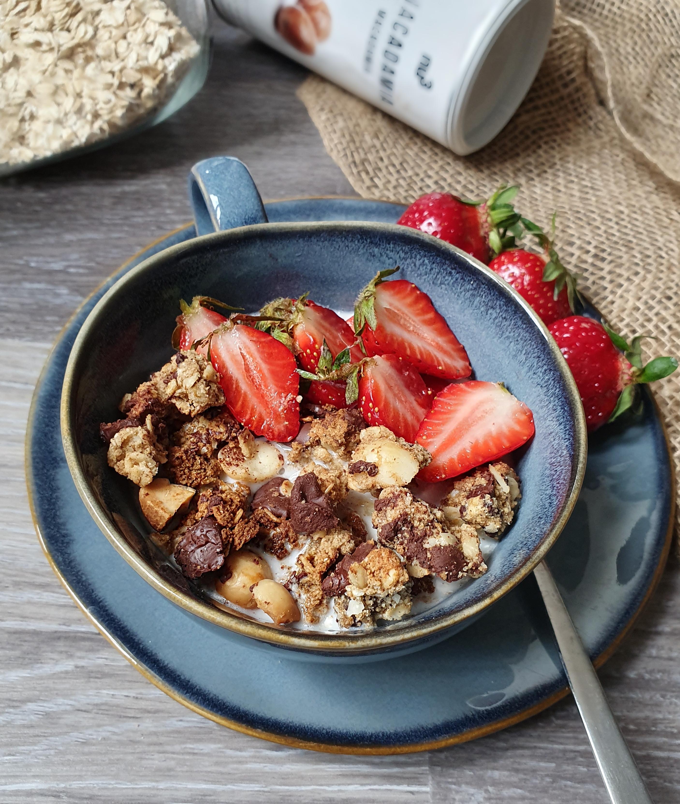 Clusters Granola Croustillant et Sans Gluten [Vegan]