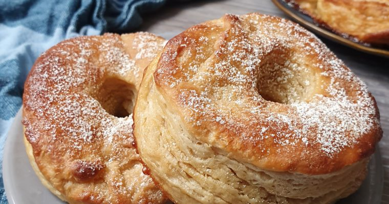 Cronuts Au Four : Le Croissant Donut [Vegan]