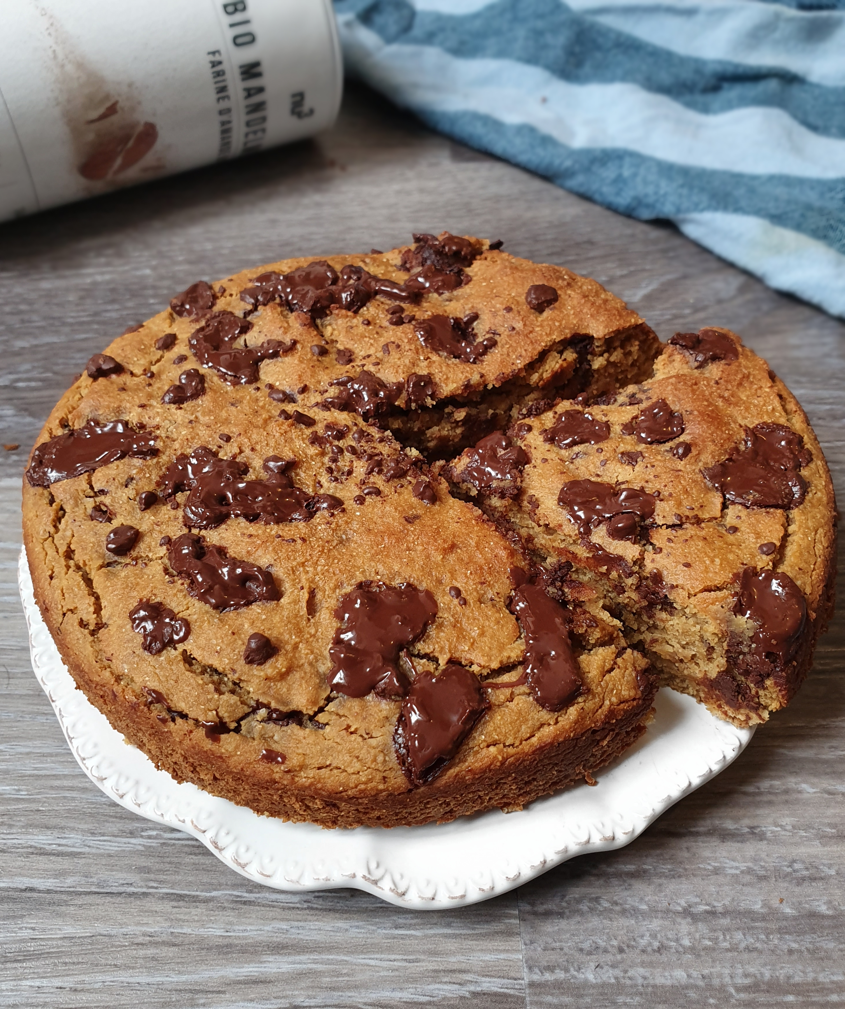 Gâteau Sans Gluten et Vegan Extra Protéiné