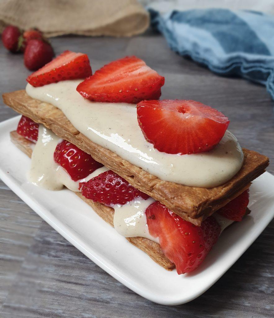 Crème Pâtissière Vegan Crue et Crémeuse. Recette express en 3 minutes et avec 3 ingrédients de mail0ves -mailo fait maison