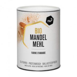 farine d'amande à -15% avec le code MAILO15 sur nu3.fr
