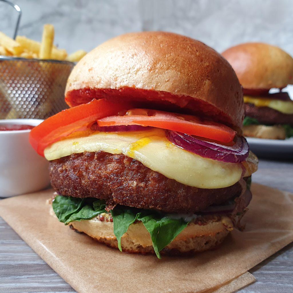 Pains Burgers Vegans et Protéinés de mail0ves - mailo fait maison