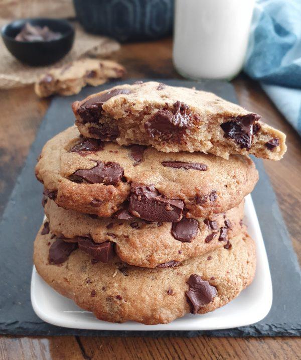 cookies vegans 3 ingrédients recette vegan, sans produits frais, spécial confinement et fond de placard de mail0ves - Mailo fait maison
