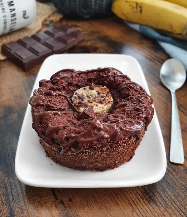 BaChoco 3 ingrédients : Moelleux Banane Chocolat Vegan