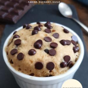 Recettes 3 ingrédients : farine, sucre et huile. Ebook vegan de mail0ves - Mailo Fait Maison