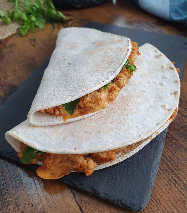 Tempeh façon quesadillas - Ebook Salé Spécial Meal Prep Vegan de Mail0ves - Mailo Fait Maison